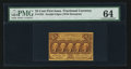 Fractional Currency:First Issue, Fr. 1281 25¢ First Issue PMG Choice Uncirculated 64.. ...