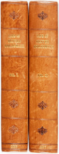 Books:Biography & Memoir, James Prior [ & Washington Irving]. The Life of OliverGoldsmith, M.B. from a Variety of Original Sources. London:J... (Total: 2 Items)