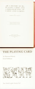 Books:Art & Architecture, [Playing Cards]. Pair of Books on the History of Playing Cards. Catherine Perry Hargrave. A History of Playing Cards and... (Total: 2 Items)