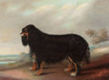 19th Century European, BRITISH SCHOOL (19th Century). Prize Spaniel. Oil on canvas.24-3/8 x 32-1/2 inches (61.9 x 82.6 cm). PROPERTY FROM TH...