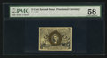 Fractional Currency:Second Issue, Fr. 1232 5¢ Second Issue PMG Choice About Unc 58.. ...