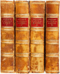 Books:Natural History Books & Prints, John Wright. Buffon's Natural History of the Globe and of Man; Beasts, Birds, Fishes, Reptiles, and Insects. Lon... (Total: 4 Items)