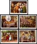 "Movie Posters:Fantasy, The Wizard of Oz (MGM, 1939). Color Glos Photos (5) (8"" X 10"")..... (Total: 5 Items)"