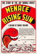 "Movie Posters:Documentary, Menace of the Rising Sun (Universal, 1942). One Sheet (28.25"" X41"") Style B.. ..."