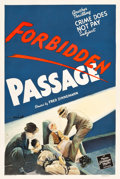 "Movie Posters:Short Subject, Crime Does Not Pay: Forbidden Passage (MGM, 1942). One Sheet (27"" X41"").. ..."