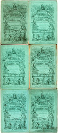 Books:Literature Pre-1900, [Charles Dickens Serials.] Charles Dickens. H. K. Browne,illustrations. Dealings with the Firm of Dombey and Son....(Total: 16 Items)