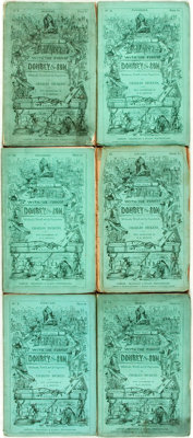 [Charles Dickens Serials.] Charles Dickens. H. K. Browne, illustrations. Dealings with the Firm of Dombey and S