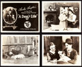 """Movie Posters:Comedy, A Dog's Life (First National, 1918). Lobby Card Set of 8 (8"""" X10"""").. ... (Total: 8 Items)"""
