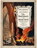 """Movie Posters:Horror, The Hunchback of Notre Dame (Universal, 1923). Program (20 Pages, 9"""" X 11"""").. ..."""