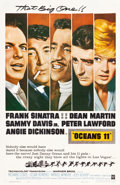 "Movie Posters:Crime, Ocean's 11 (Warner Brothers, 1960). One Sheet (27"" X 41.5"").. ..."