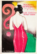 "Movie Posters:Drama, The Girl from Nowhere (Select, 1921). Norwegian One Sheet (25.5"" X37"").. ..."