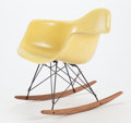Furniture, CHARLES EAMES (American, 1907-1978) and RAY KAISER EAMES (American, 1912-1988). A RAR Rocker, circa 1950, Herman Miller...