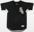 Baseball Collectibles:Uniforms, 2007-10 Harold Baines Game Worn Batting Practice Jersey. ...