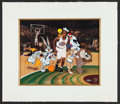 "Basketball Collectibles:Others, Michael Jordan Signed ""Space Jam"" Cel...."