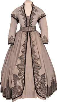 "A Vivien Leigh Period Dress from ""Gone With The Wind."""