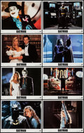 "Movie Posters:Action, Batman (Warner Brothers, 1989). Lobby Card Set of 8 (11"" X 14"").Action.. ... (Total: 8 Items)"