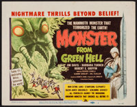 "Monster from Green Hell (DCA, 1957). Title Lobby Card (11"" X 14""). Horror"