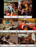 """Movie Posters:Sports, Grand Prix (MGM, 1967). French Lobby Card Set of 6 (8.5"""" X 11""""). Sports.. ... (Total: 6 Items)"""