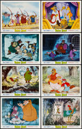 "Movie Posters:Animation, Robin Hood (Buena Vista, 1973). Lobby Cards (8) (11"" X 14"").Animation.. ... (Total: 8 Items)"