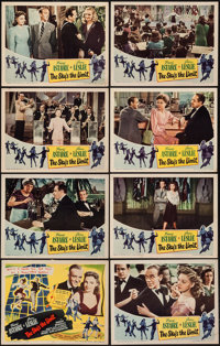 """The Sky's the Limit (RKO, 1943). Lobby Card Set of 8 (11"""" X 14""""). Musical. ... (Total: 8 Items)"""