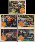 "Movie Posters:Adventure, The Last Days of Pompeii (RKO, 1935). Lobby Cards (5) (11"" X 14"").Adventure.. ... (Total: 5 Items)"