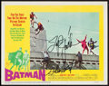 """Movie Posters:Action, Batman (20th Century Fox, 1966). Signed Lobby Card (11"""" X 14"""").Action.. ..."""
