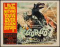 """Movie Posters:Science Fiction, Gorgo (MGM, 1961). Half Sheet (22"""" X 28""""). Science Fiction.. ..."""