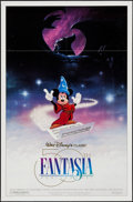 """Movie Posters:Animation, Fantasia (Buena Vista, R-1990). One Sheet (27"""" X 41"""") DS.Animation.. ..."""