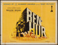 "Movie Posters:Academy Award Winners, Ben-Hur (MGM, 1959). Half Sheet (22"" X 28"") Style B. Academy Award Winners.. ..."