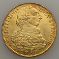 Colombia, Colombia: Charles III gold 8 Escudos 1788 NR-JJ XF Cleaned,...