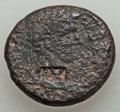 Ancients:Judaea, Ancients: JUDAEA. Tenth Roman Legion (1st-end centuries AD).Countermarked Æ 23mm (13.69 gm). ...