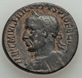 Ancients:Roman Provincial , Ancients: SYRIA. Coele-Syria. Damascus. Philip I (AD 244-249). Æ28mm (13.09 gm). ...