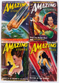 Pulps:Science Fiction, Amazing Stories Box Lot (Ziff-Davis, 1928-53) Condition: AverageFR.... (Total: 2 Box Lots)