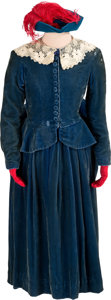 "Movie/TV Memorabilia:Costumes, A Cammie King Period Riding Habit from ""Gone With The Wind.""..."
