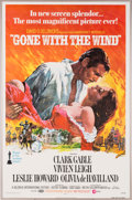 "Movie/TV Memorabilia:Posters, A One-Sheet Poster from ""Gone With The Wind."". ..."
