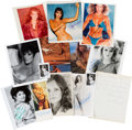 Movie/TV Memorabilia:Autographs and Signed Items, An Ann-Margret, Priscilla Presley, Bo Derek, and Others Collection of Signed Photographs, Circa 1970s-1990s....