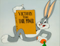 Animation Art:Presentation Cel, Falling Hare Bugs Bunny Publicity Cel (Warner Brothers,1943/46)....