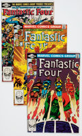Modern Age (1980-Present):Superhero, Fantastic Four Group (Marvel, 1981-86) Condition: Average NM-....(Total: 64 Comic Books)