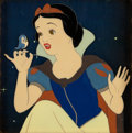 Animation Art:Production Cel, Snow White and the Seven Dwarfs Production Cel Setup (WaltDisney, 1937)....