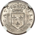 Italy, Italy: Lucca. Charles Louis de Bourbon 2 Soldi 1835 MS65 NGC,...
