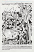 Original Comic Art:Splash Pages, Bruce Zick and Mike DeCarlo Thor #461 Page 1 Original Art(DC, 1993).. ...