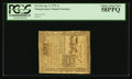 Colonial Notes:Pennsylvania, Pennsylvania April 3, 1772 1s PCGS Choice About New 58PPQ.. ...