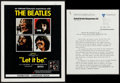 "Movie Posters:Rock and Roll, Let It Be (United Artists, 1970). British Pressbook (6 Pages, 9.75""X 12.5""). Rock and Roll.. ..."
