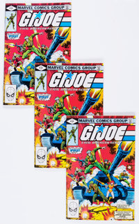 G. I. Joe, A Real American Hero #1 Group (Marvel, 1982) Condition: Average VF.... (Total: 27 Comic Books)