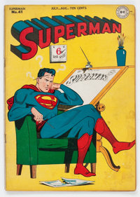 Superman #41 (DC, 1946) Condition: VG/FN