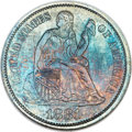 Seated Dimes, 1881 10C MS67 NGC. Fortin-101....