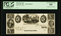 Obsoletes By State:Ohio, Circleville, OH - Unknown Issuer $5 Wolka 0684-03 Unique Proof. ...