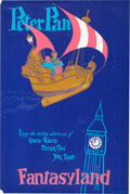 "Animation Art:Poster, ""Fantasyland/Disneyland"" Peter Pan Park Entrance Poster (WaltDisney, 1955)...."