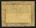 Colonial Notes:Maryland, Maryland August 14, 1776 $4 Very Good.. ...