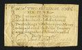 Colonial Notes:North Carolina, North Carolina December, 1771 2s6d Duck Fine-Very Fine.. ...